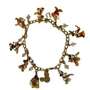 Disney 80th Anniversary Mickey Charm Bracelet